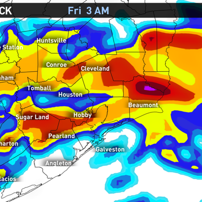 Strong storms are expected early Friday morning.