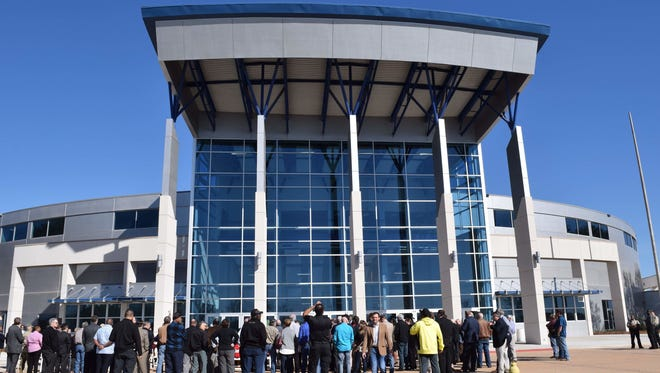 The Rapides Parish Coliseum will host a WWE event for the first time in four years.