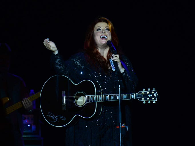 Wynonna at Municipal.  Henrietta Wildsmith/The Times