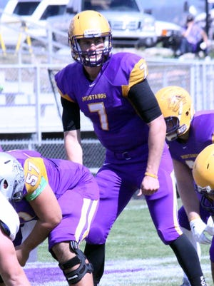 WNMU quarterback MItch Glasmann set the career passing yards record in the Rocky Mountain Athletic Conference on Saturday afternoon.