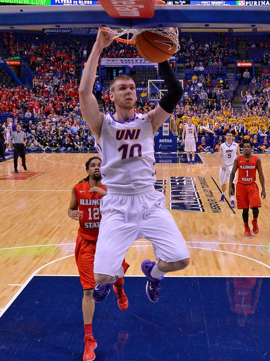 NCAA Basketball: Missouri Valley Conference Tournament-Norther Iowa vs Illinois State