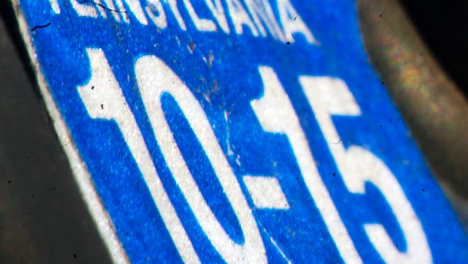 Pennsylvania registration stickers are slated to be phased out at the end of this year.