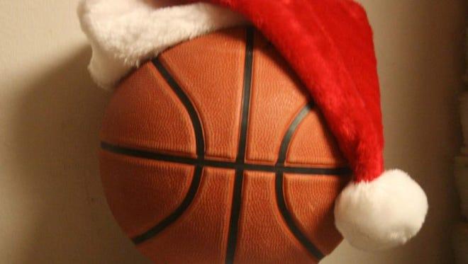 Christmas basketball