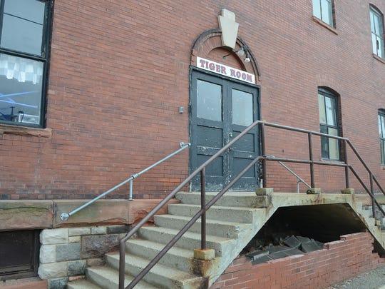 Entrance to St. Philip's Tiger Room on Van Buren Street
