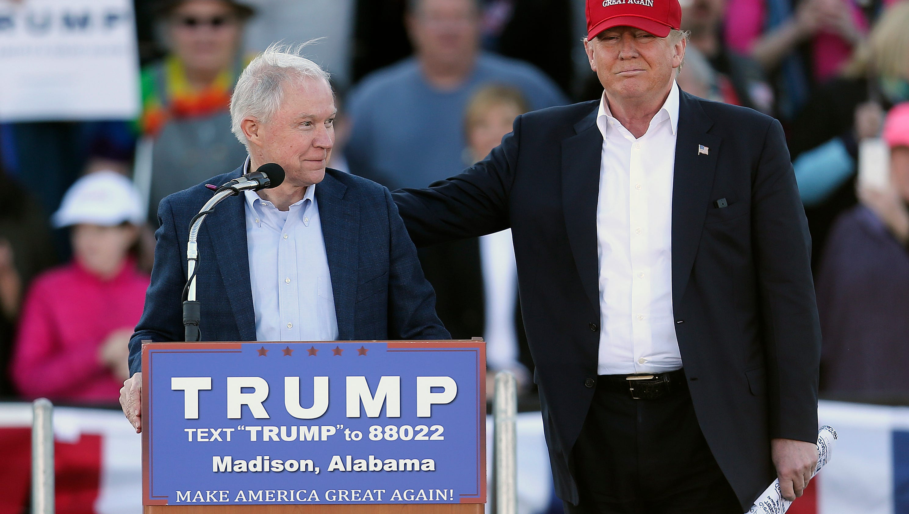 Trump: If I'd known Sessions would recuse himself on Russia I wouldn't have picked him