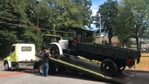 An antique truck owned by the Kings Mountain History Museum will soon be spruced up and back in action at community events.