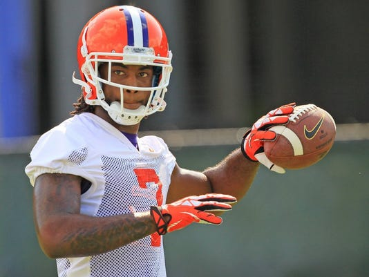 Mike Williams fall practice