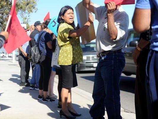 Farmworker rally