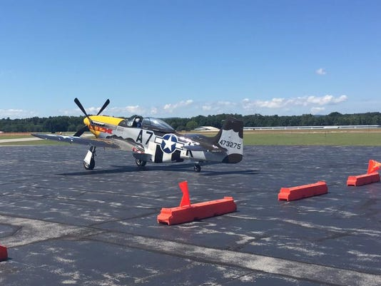 P-51 Mustang at Dutchess County Airport