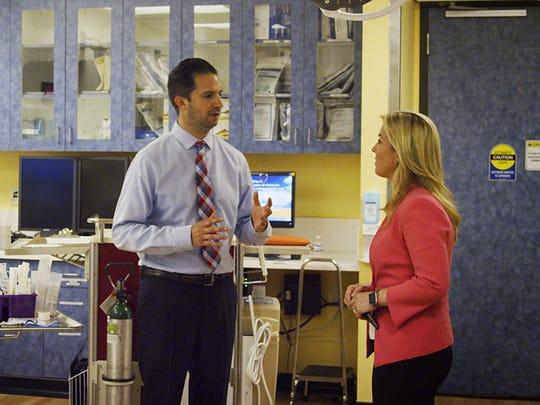 Dr. Joshua Sherman, a pediatric emergency medicine