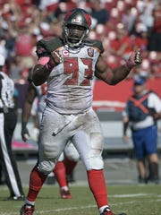 Bucs defensive lineman Gerald McCoy.