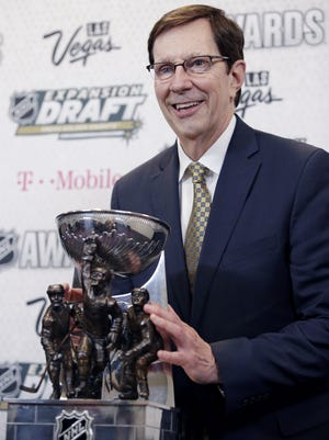 The Predators' David Poile was named the NHL General Manager of the Year in 2017.