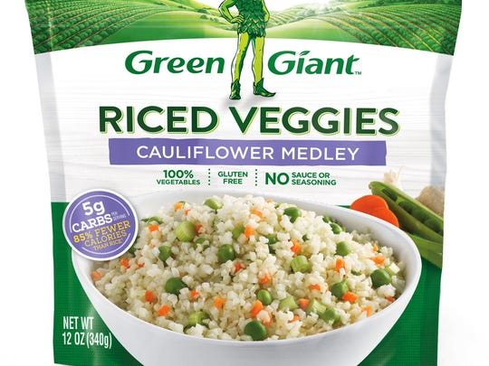 """Green Giant is hoping the """"cauliflower rice"""" trend"""