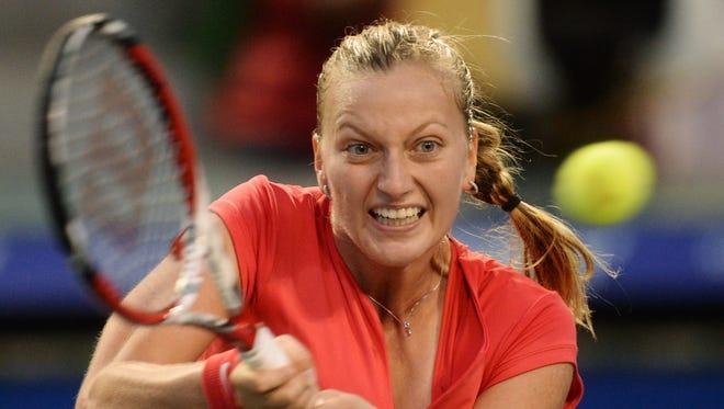 Petra Kvitova of Czech Republic captures the Pan Pacific Open.