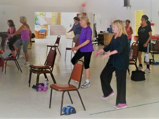 Exercise class at Ruidoso Community Center