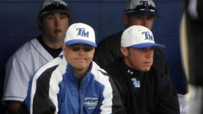 Thomas More baseball coach Jeff Hetzer.