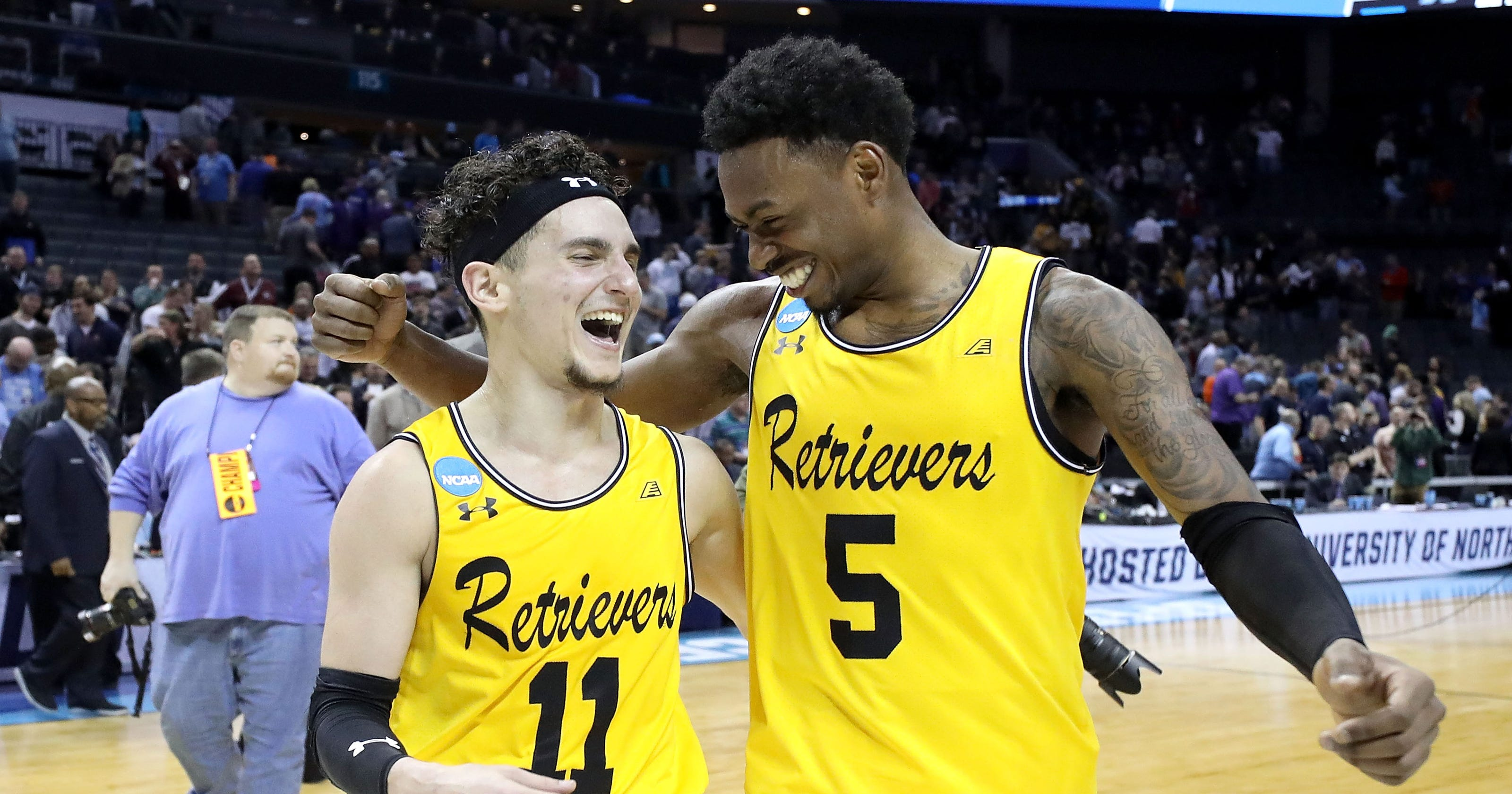 on sale 7dfab f57ae NCAA: UMBC takes its unlikely place in hoops history
