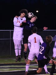 Haughton vs. Benton boys soccer Thursday evening at