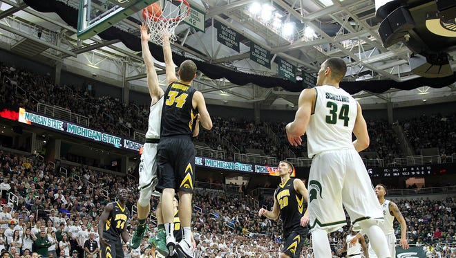 Iowa's toughness was groomed by training with Navy SEALs in September  and it was apparent on the floor Jan. 14 at the Breslin Center in a 76-59 win over then-No. 4 Michigan State.