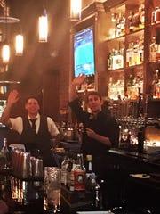 Bartenders at the Brickyard.