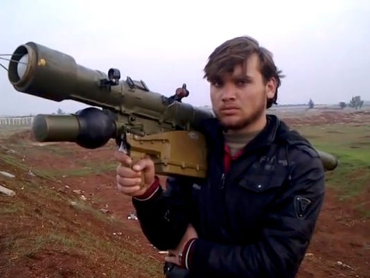 Syria Aircraft Threats