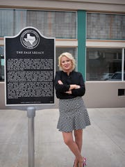 Amber Schacter, new owner of the Zales Building in downtown Wichita Falls, looks to carry on the Zales Legacy at the corner of Eight and Ohio while continuing on her own path. Three restaurants will occupy portions of two units of the four-section complex, and she hopes to lease the remaining two.