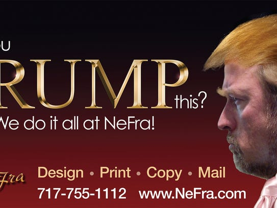 Springettsbury Township business NeFra Printing and