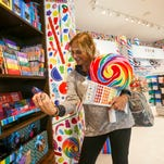 Dylan's Candy Bar is one of the new shops that opened at Southwest Florida International Airport.  A few other shop redos are occurring around the airport and beyond the security checkpoints, on the airport's three concourses.