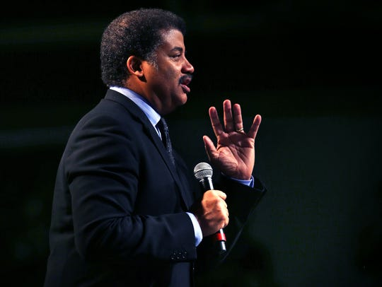 Neil deGrasse Tyson, pictured at the University of