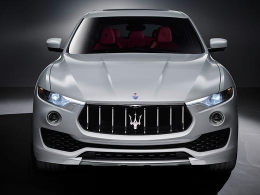 Maserati reveals its new Levante super-deluxe SUV