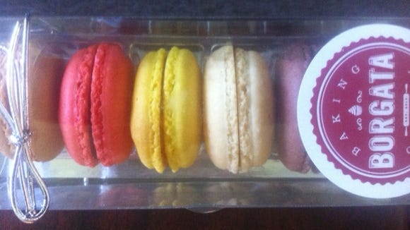 Macarons are among the treats offered by the new baking company.
