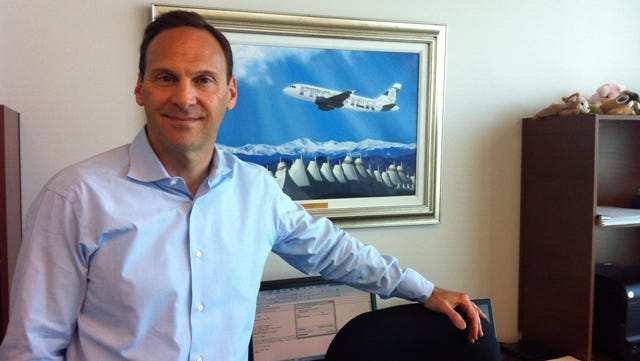 Frontier Airlines president and CEO David Siegel