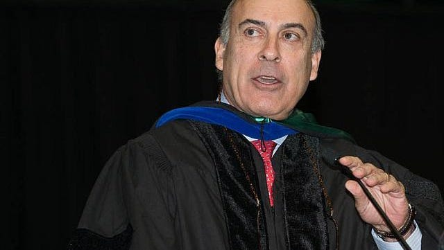 Chairman and CEO of The Coca-Cola Company Muhtar Kent received an honorary doctorate and delivered the commencement address at CSU's College of Business graduation ceremonies on May 17.