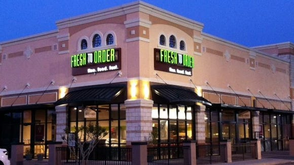 Fresh To Order will open at MAgnolia Park in Greenville in November.