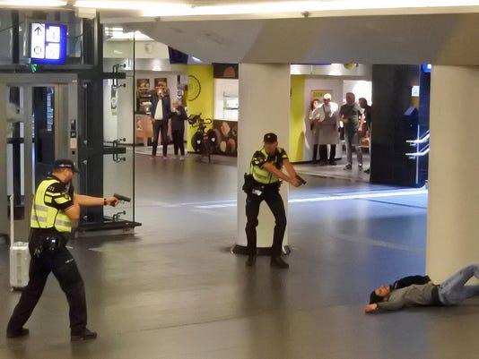 Amsterdam stabbing