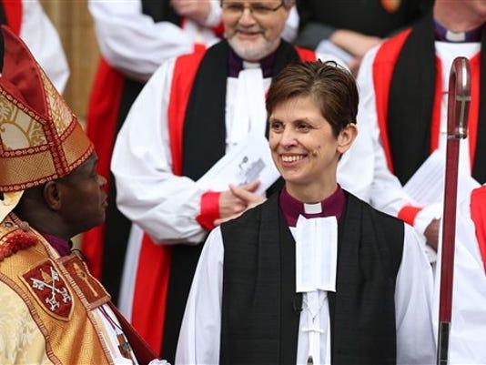Britain Female Bishop