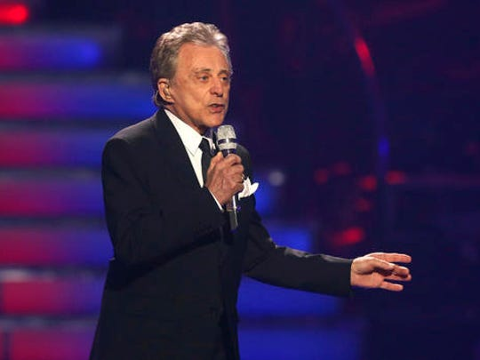 "Frankie Valli performs at the ""American Idol"" finale at the Nokia Theatre at L.A. Live in Los Angeles."