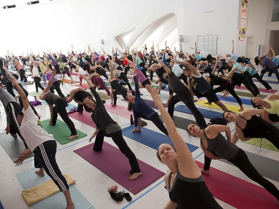 Relax your mind and exercise your body with yoga classes