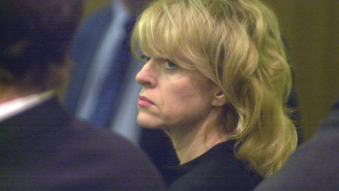 This is the arraignment for  Valerie Pape in Judge Ronald Reinstein's courtroom in Superior Court in Phoenix in 2000. She pleaded guilty to killing her husband.