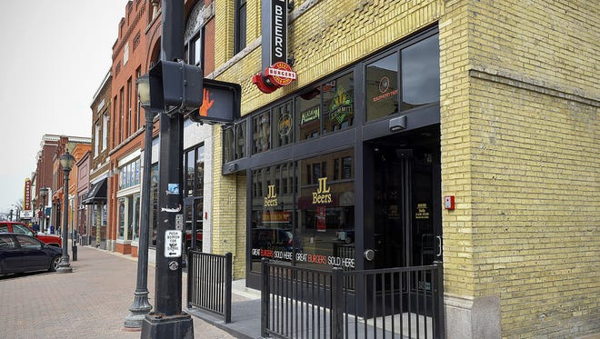 JL Beers opened in 2016 in downtown St. Cloud. It is known for its burgers and beer.