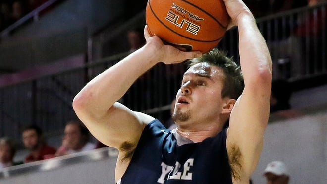 Former Brentwood High basketball star and Yale basketball captain Jack Montague.