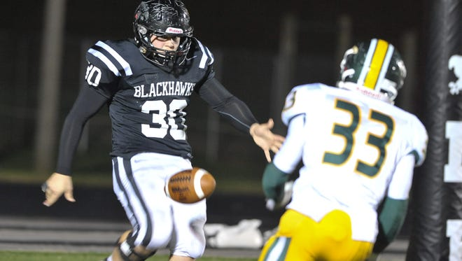 North Buncombe's Mikhail Simonovich and the Black Hawks are in the NCHSAA football playoffs for the first time since 2008.