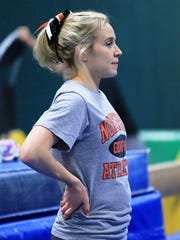 Northville coach Erin McWatt likes what she see so