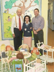 John, Anne and Jonathan Riczko, on-site owners of The Goddard School in Randolph.