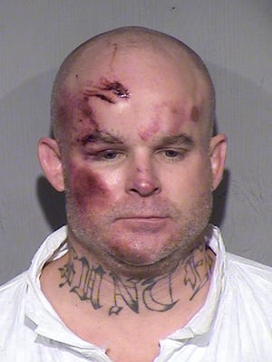 Ryan Giroux, the suspect in a Mesa mass shooting that left one person dead in Mesa on Wednesday, March 18, 2015, is a former Arizona Department of Corrections inmate with a history of police assaults and illegal drug use, according to police and prison records.