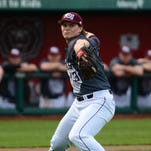 Missouri State reliever Bryan Young has emerged as the Bears' closer with a 4-0 record and six saves.