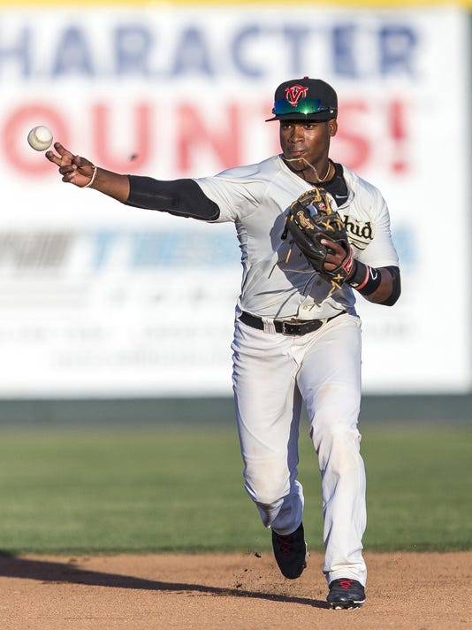 2015 Visalia Rawhide Baseball