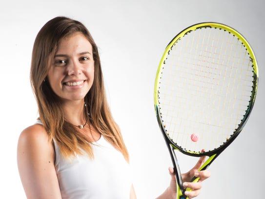 Marina Lombardo, Bishop Verot All Area tennis