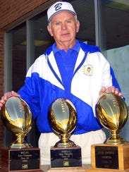 Coach Jim Drewry won his third state championship and