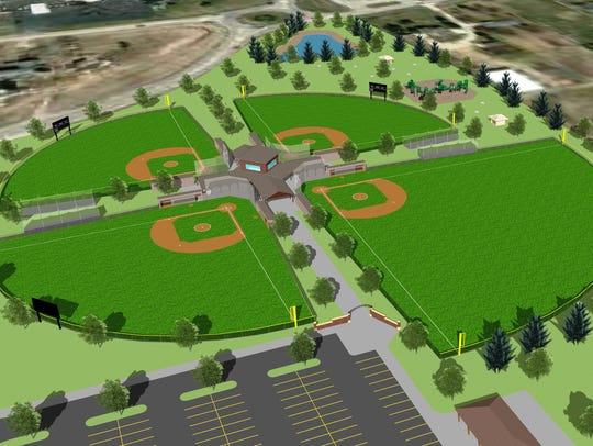 Kaukauna Youth Baseball failed to raise enough money to proceed with the construction of a $4 million baseball complex at the southeast corner of State 55 and Calumet County KK in Harrison.